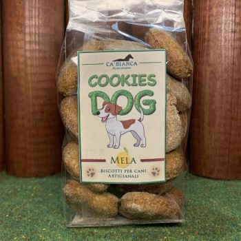 COOKIES DOG Mele e Cannella 100g