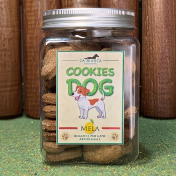 COOKIES DOG Mele e Cannella 200g